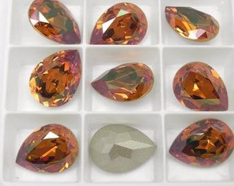 Swarovski 4320 Crystal Copper F 18X13MM Stone (1 piece)