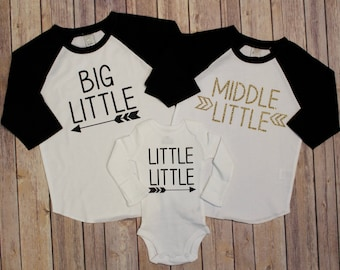 Big Little Shirt, Middle Little Shirt, Little Little, Big Brother, Biggest Brother, Middle Brother, Little Brother, New Baby, Pregnancy