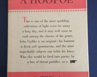 Hoping For A Hoopoe by JOHN UPDIKE 1st UK 1959 hardcover 1st book of poetry!