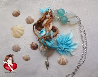 Blue Stone Siren necklace