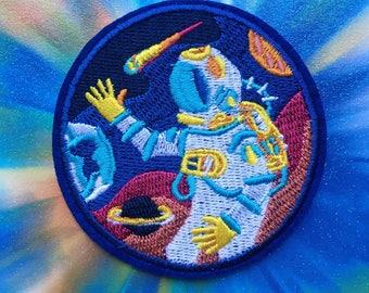 Astronaut iron on patch / decoration
