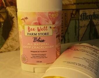 Holistic healing BLISS , Deep crack cream Revitalizing and repairing Dry skin