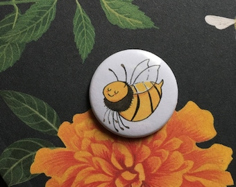 Save the bees - button