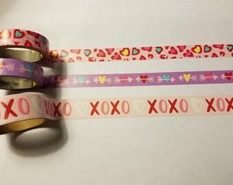 Valentines Day Washi Sample Set
