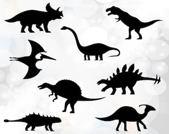 dinosaur SVG - Dinosaur Cutting Templates - Commercial and Personal Use svg files - Dinosaurus clipart - download svg, png, dxf, eps
