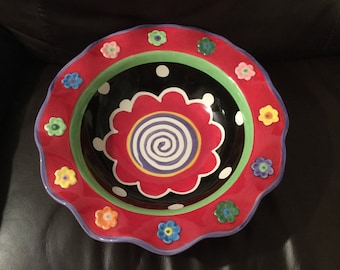 Nicole Englbom hand painted bowl
