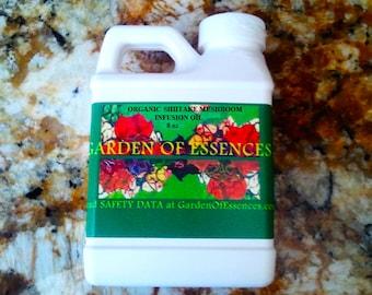 ORGANIC Shiitake Mushroom Oil, Skin Lightening, Dark Spot Removal, Pigmentation Remedy, Organic Mushroom Extract,Calming Mushroom Facial Oil
