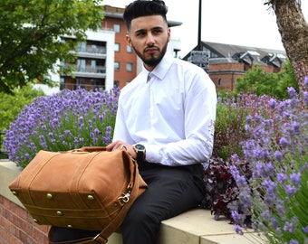 Kurtis Paul Cromwell Leather Duffle Bag