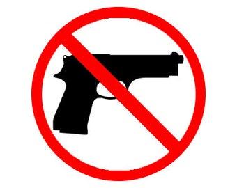 "Anti Second Amendment 1"" pinback button 2nd Amendment Gun Control Gun Free Zone"