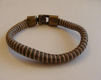 Bracelet leather women 20 cm