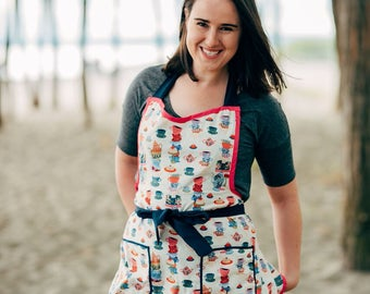 Rifle Paper Co Teacup Apron