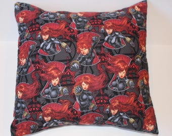 Black Widow 14 x14 Pillow