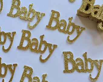 Baby Confetti for Baby Shower Tables Decorations - 30 CT