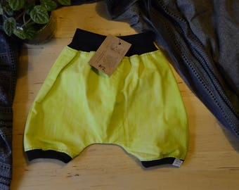 Lime & Black shorties size 1