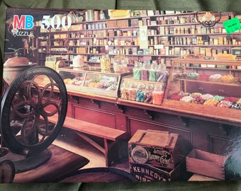 MB Puzzle, Brown & Hopkins General Store