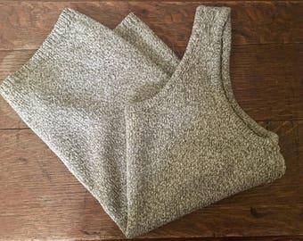 Linen Silk Knit Tank Size S/M