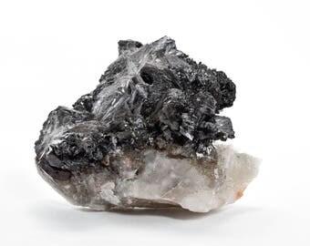 Goethite with Onegite & Quartz from Dreamtime Mine, Teller County, Colorado 24