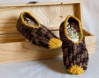 Slippers or bed, handmade
