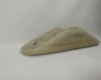 "Small Driftwood Block  11.8""/30cm  Beautiful Shaped  Driftwood - Rare/Unique Driftwood Piece # 129B"