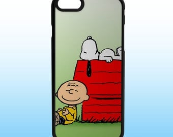 Peanuts Snoopy Charlie Brown Custom Iphone Case, Iphone 5, 6, 7, 8, X