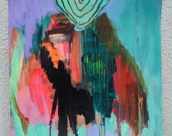 Abstract art, painting, Interior, art, wall art, painting, original art, acrylic painting, art, modernart, original image, mixed media