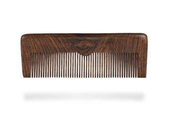 Beaver Scooter Black Sandalwood Beard Comb