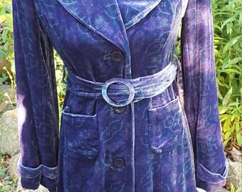 Odillei Velvet Coat