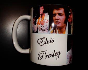 Elvis Presley 1970's Mug