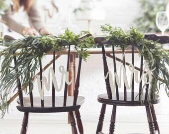 Wedding chair decor | Etsy