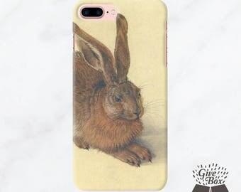 iPhone 7 Case Cutie rabbit, iPhone 7 Plus Case bunny, iPhone 6s Case  iPhone 6s plus Case, Samsung Galaxy S8 Case, Samsung Galaxy S7 Case
