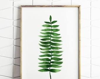 80% OFF botanical decor, botanical printable, fern wall art, fern printable, instant download, botanical wall art, trending printable