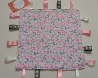 Pink Fox Taggy, Fox Comforter