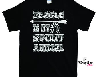 Beagle Is My Spirit Animal T-shirt