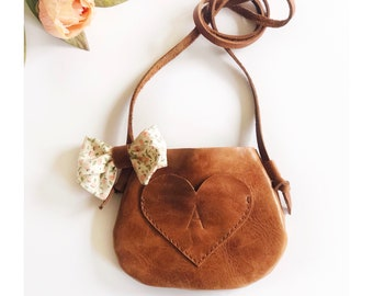 Petite bow purse for sweet as april