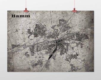 Hamm - A4 / A3 - print - OldSchool