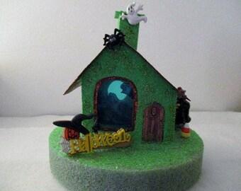 Glitter Halloween House