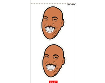 2 Lavar Ball Peel-away Stickers