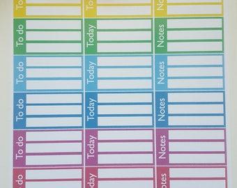 Planner Stickers sticker to do box
