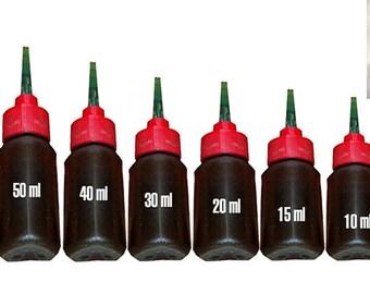 100% Natural Ready-To-Use Rajasthani Henna Mehndi With Needle Tip Applicator Bottle