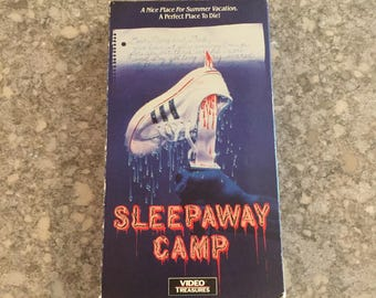 Sleepaway Camp (1988) HORROR VHS Video Treasures