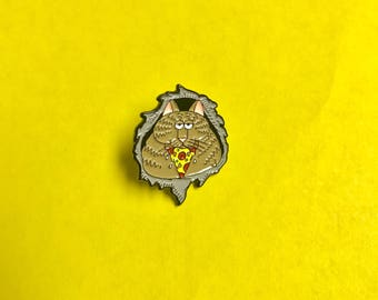 Ripper Cat Lapel Pin