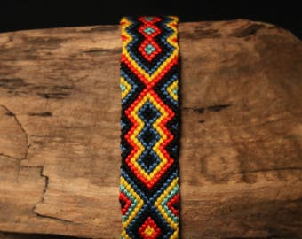 Handmade friendship bracelet, woven bracelet