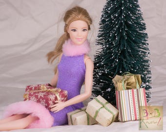 Mini Christmas Presents (Classy Traditional) -- Playscale Miniatures 1:6 Scale