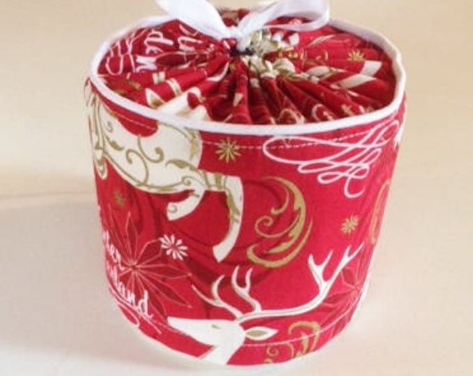 Toilet Paper Cover for your Holiday Bathroom Decor