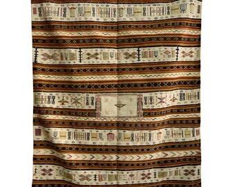 Moroccan Berber Hanbal Kilim Carpet - Origin Khemisset, Morocco.