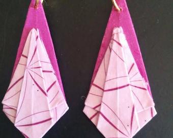 """Earrings """"Diamond point"""""""
