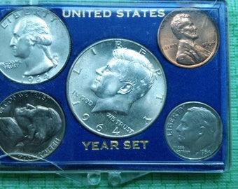 1964 US uncirculated set