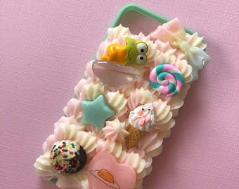 Lazy egg decoden case for iphone 7/8 bumper case