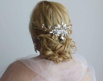 Bridal Headpiece, Wedding Headpiece, Bridal Hair Piece, Bridal Head Piece, Bridal hair comb