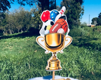 Sports Trophies for Game Day, Birthdays